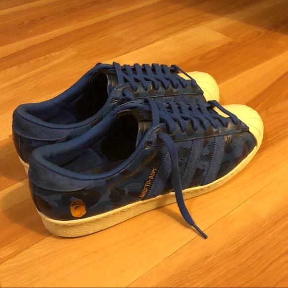 e4161c3d3 Bape Other - Bape x Undefeated x Adidas Superstars